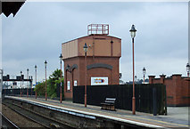 SP0786 : Water tower, Birmingham Moor Street Railway Station by JThomas