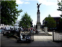 C4316 : Monument at The Diamond, Derry / Londonderry by Kenneth  Allen