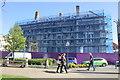SH7882 : Tudno Castle Hotel Demolition by Jeff Buck