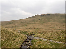 NY5009 : Path fording minor stream in Mosedale by Trevor Littlewood