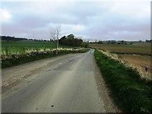 NO2202 : Road to Holl Reservoir, Lomond hills by Bill Kasman