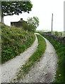 SE0427 : Halifax Bridleway 189 approaching Reign by Humphrey Bolton