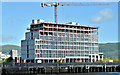 J3474 : The City Quays hotel site, Belfast - May 2017(2) by Albert Bridge