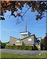 TQ0570 : Christ Church, Kingston Road by Des Blenkinsopp