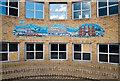 TQ1769 : Mosaic, John Lewis store, Kingston-upon-Thames by Julian Osley