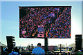 TQ2904 : Big Screen - Brighton & Hove Albion promotion parade by Paul Gillett
