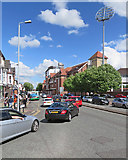 SK5838 : Traffic on Radcliffe Road by John Sutton
