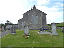 H5956 : Ballynasaggart Church of Ireland (side view) by Kenneth  Allen