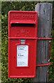 TF8100 : Close up, Elizabeth II postbox on Westgate Street, Hilborough by JThomas