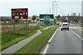 NH8956 : Nairn, A96 Forres Road by David Dixon