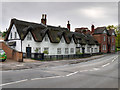 SK3027 : 1 Willington Road and The Thatched House by David Dixon