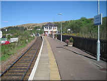 NN1176 : Banavie railway station, Highland by Nigel Thompson