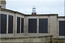 SX4753 : Plymouth Naval Memorial - Submarine, Minelayers panel by N Chadwick