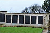 SX4753 : Plymouth Naval Memorial - Landing Ships & Crafts, Commandos panels by N Chadwick