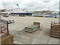 TR3240 : Saga Sapphire moored beside the Admiralty Pier by John Baker