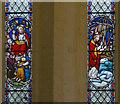 SK7894 : Stained glass window detail, St Peter's church by Julian P Guffogg