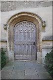 SP5206 : Door into the Great Tower, Magdalen College, from Chaplain's Quad by Rich Tea