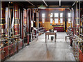 SK2625 : Driving Floor, CD Engine House at Claymills Victorian Pumping Station by David Dixon