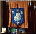 SD8172 : St Oswald's Mothers' Union Banner by Betty Longbottom