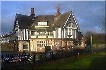 TA0832 : The Cross Keys Hotel by N Chadwick