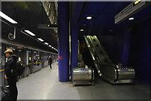 TQ3979 : North Greenwich Underground Station by N Chadwick