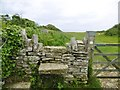SZ0277 : Durlston, stile by Mike Faherty