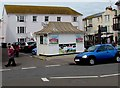 SY1287 : Ice cream stall on The Esplanade, Sidmouth by Jaggery