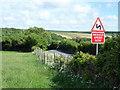 TQ5101 : Road Sign on Alfriston Road by PAUL FARMER