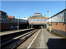 TQ7407 : Bexhill Station by PAUL FARMER