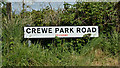 J1770 : Name sign, Crewe Park Road near Glenavy - May 2017(1) by Albert Bridge