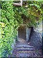 TV5999 : Flint Wall and Gateway, Manor Gardens by PAUL FARMER
