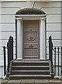 TQ3185 : Door surround and fanlight, Highbury Park by Julian Osley