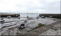 J3829 : Low water at Newcastle Harbour by Eric Jones