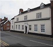 SJ6552 : Grade II listed number 140 Hospital Street, Nantwich by Jaggery