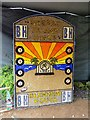 SK2732 : Etwall Well Dressing - 2017 (Desert Island Discs) by John M