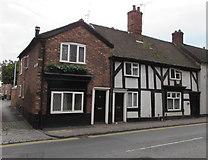 SJ6552 : Three Grade II listed houses in Hospital Street, Nantwich by Jaggery