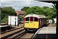 SZ5984 : Sandown Railway Station by Peter Trimming
