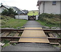 SN6096 : Level crossing to Aberdovey Golf Club by Jaggery