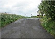 NO1604 : Dryside road, Lomond Hills by Bill Kasman