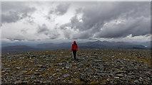 NH3078 : On the ridge heading for Am Faochagach by Julian Paren