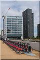 TQ3884 : Santander Cycles by Ian Capper