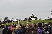 ST8083 : Badminton Horse Trials 2017: cross-country fence 5a - staircase by Jonathan Hutchins