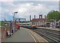 SP7487 : Market Harborough: northbound arrival by John Sutton