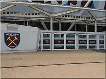 TQ3784 : Stadium, Olympic Park, Stratford, East London by Christine Matthews