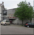 SO1408 : Entrance to Tredegar Library, Tredegar by Jaggery