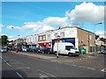 TQ4389 : Parade of shops on Longwood Gardens, Barkingside by Malc McDonald
