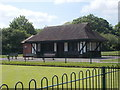 SE6152 : Bowling Pavilion - Glen Gardens - East Parade by Betty Longbottom