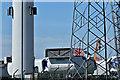 J3777 : Wind turbine parts, Belfast harbour - May 2017(2) by Albert Bridge
