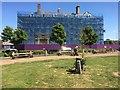 SH7882 : Tudno Castle Hotel in a shroud by Richard Hoare