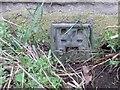 NZ1228 : Ordnance Survey Flush Bracket 2245 by Peter Wood